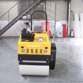 捷克 双钢轮压路机双轮驱动 1吨振动驾驶式压路机