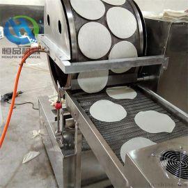 小型食品厂专用春卷皮机 双排春卷皮设备厂家