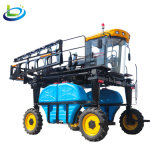 四驱四轮高杆玉米大豆棉花小麦自走式柴油喷杆打药机