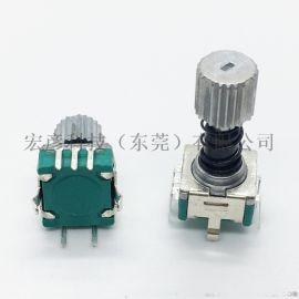 EC11伸缩编码器弹簧带自锁按压功能旋转编码器
