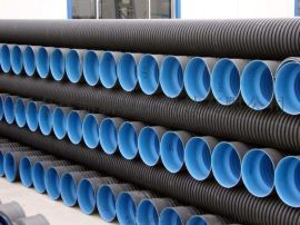 HDPE双壁波纹管价格 PE双壁波纹管生产厂家 大口径排污管雨水管