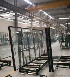 护栏10mm超白热弯钢化玻璃