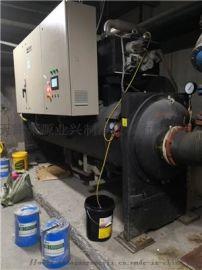 天津劳特斯中央空调水冷机组进水维修