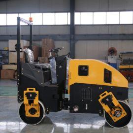 座驾式震动压路机 小型双钢轮压路机 小碾子厂家