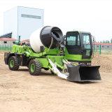 2方自上料攪拌車 建築工地用混凝土攪拌運輸車