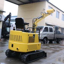 厂销 微型农用挖掘机 全新大棚果园园林小挖机