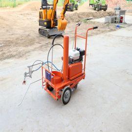 手推式道路划线机 市政公路画线机 热熔划线机厂家