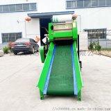 養殖飼草全自動青儲打包機 青儲飼料圓捆機