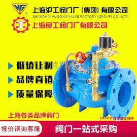 上海冠龙阀门厂 600X-16Q电动控制阀