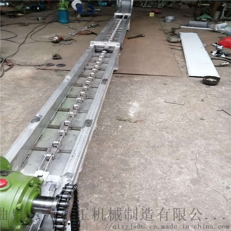 高炉灰输送刮板机 斗式提升机链板结构 Ljxy 刮