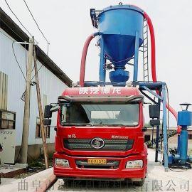 气力水泥干灰石粉自动清库装车机风压式粉料自吸送料机