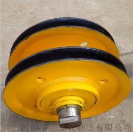 生产32吨滑轮组起升滑轮组滑车滑轮吊环式滑轮组