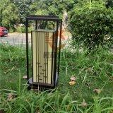 新中式草坪燈仿雲石柱頭燈園林景觀燈戶外庭院燈