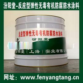 反应型弹性  有机防腐防水涂料用于污水池防水防腐
