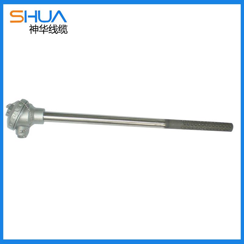 高品质端面耐磨热电偶可定制手柄式铠装耐磨热电偶