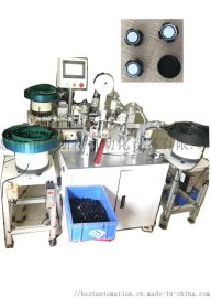 自动化生产防水透气帽自动焊膜自动装盖组装设备