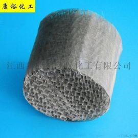 金属丝网波纹 304不锈钢规整填料 丝网波纹填料
