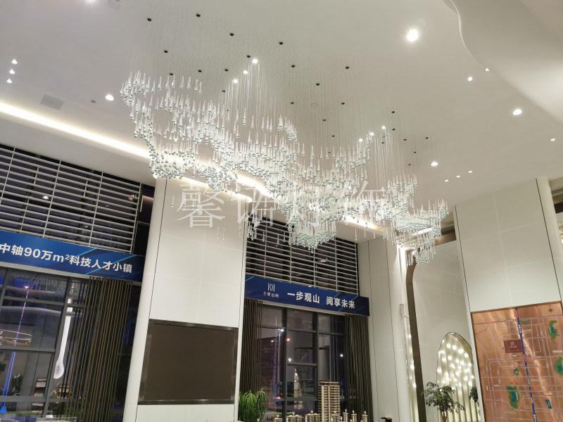 非標工程燈 售樓部沙盤燈 藝術水滴燈