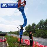 液壓鑽孔機 AD80挖機鑽基礎孔挖坑機