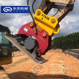 平板夯 210液压夯挖机夯实的振动平板夯