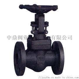 中鼎FGBF-600锻钢法兰截止阀DN80