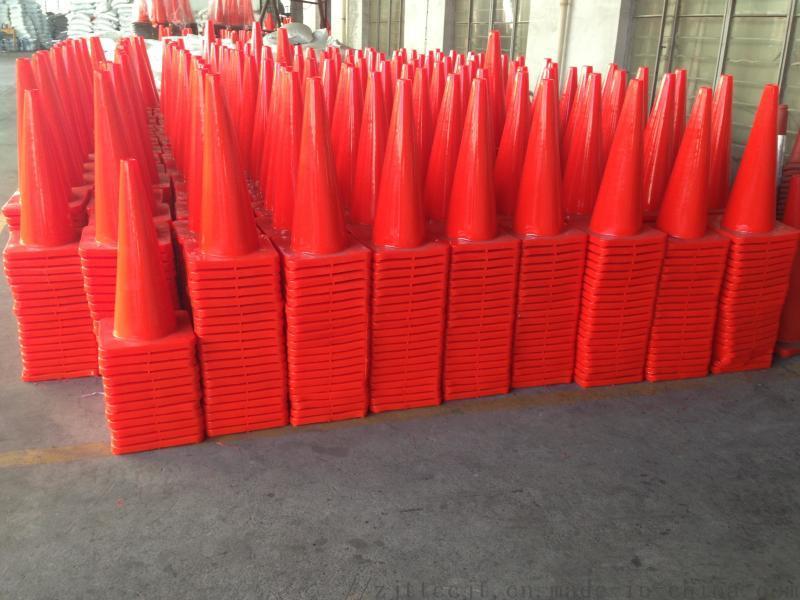 交通設施PVC反路錐反光圓錐路錐雪花桶全紅路錐