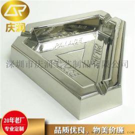定制三角形金属烟灰缸 高品质锌合金烟灰缸定做厂家