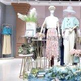 广州明浩长期供应品牌折扣女装万紫千红夏装货源渠道
