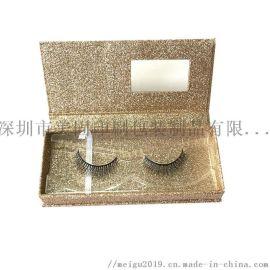礼盒厂家定做假睫毛礼盒手工盒磁性化妆品工具礼盒