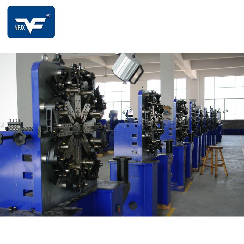 银丰货架展示架成型设备货架挂钩生产机器