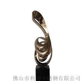 不锈钢指环雕塑 立形 大型园林雕塑景观雕塑