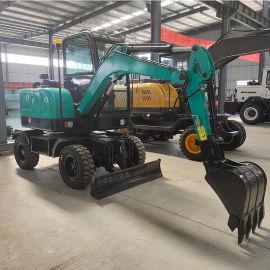 轮式挖掘机岳工YG-40轮式挖掘机    性能