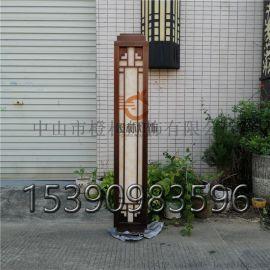 单元门口壁灯仿云石挂墙灯不锈钢外墙灯防水专业定制