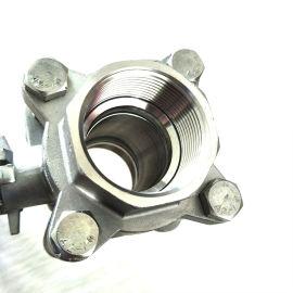 不锈钢螺纹三片式球阀 DN25