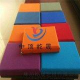 彩色布藝軟包防潮吸音板的吸聲效果 防火玻纖吸音板