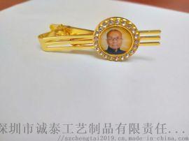 工厂直销夹子制作, 金色男士领带夹生产