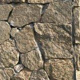 河北文化石黄木纹片岩 黄木纹碎拼 黄色板岩页岩片外墙砖