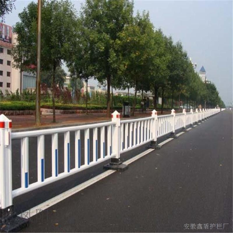 浙江金華塑鋼道路護欄 市政隔離欄生產商