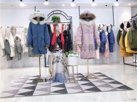 国际**ck羽绒服 广州品牌女装羽绒服外套厂家货源