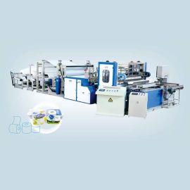 HX-SJA-1575彩胶厨房用纸卫生纸生产线(经济型)