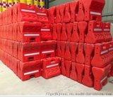 供甘肅蘭州橡膠路錐或甘南塑料隔離墩廠家