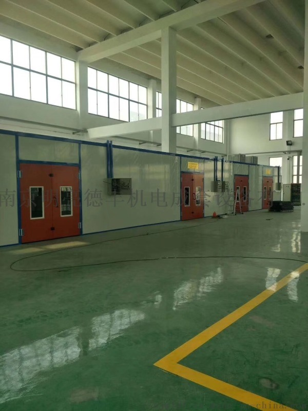 廠家直銷傢俱噴漆房,環保型汽車烤漆房南京揚州