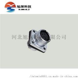 重强maojwei直角连接器P24F-9D公插头
