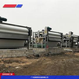 砂石加工泥浆处理设备,石英砂污泥压榨设备
