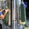 大型双头瓜果削皮机 哈密瓜削皮机 夏季西瓜削皮设备