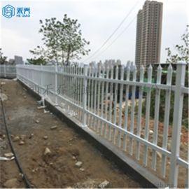喷塑铁艺幼儿园厂房庭院隔离护栏围栏鹰潭禾乔厂家直销