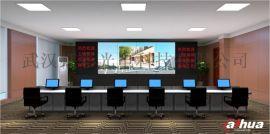 天门学校商超政府机构指挥中心LED拼接屏安装制作