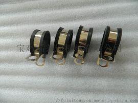 EPDM橡胶金属管夹 国标标准线夹