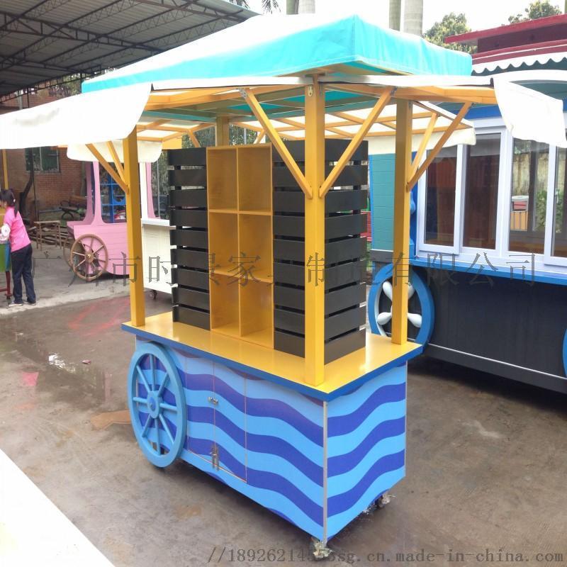 售 车 户外小吃便捷小餐车