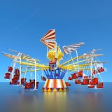 兒童樂園32人遊樂設備 蜻蜓點水旋轉類遊樂設施